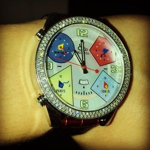 Jacob & Co Diamond Watch 100% authentic Unisex